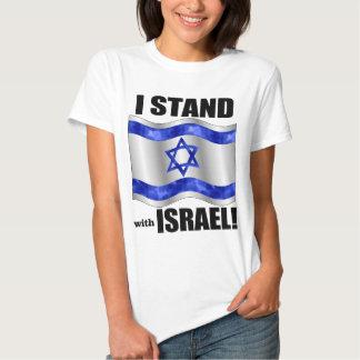Eu estou com Israel! T-shirts
