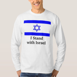 Eu estou com Israel T-shirts