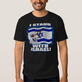 Eu estou com Israel Tshirt