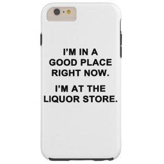 Eu estou em um bom lugar agora capa tough para iPhone 6 plus