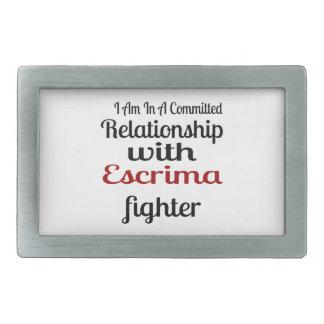 Eu estou em uma relação cometida com Escrima Figh