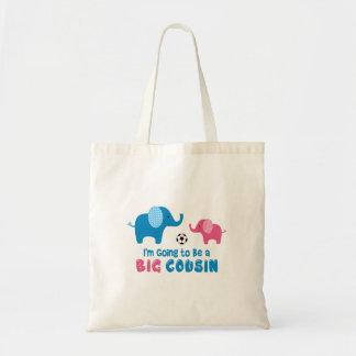 Eu estou indo ser um elefante grande do primo bolsa tote