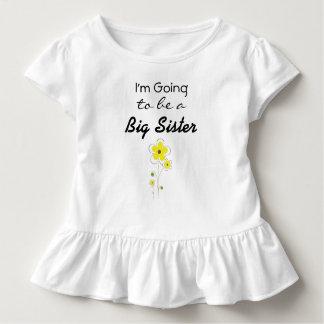Eu estou indo ser uma camisa do anúncio da irmã