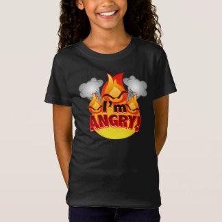 Eu estou irritado! T-shirt da obscuridade das Camiseta