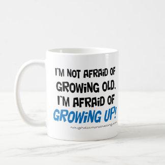 Eu estou receoso de crescer acima a caneca