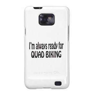 Eu estou sempre pronto para Biking. do Capas Samsung Galaxy S2