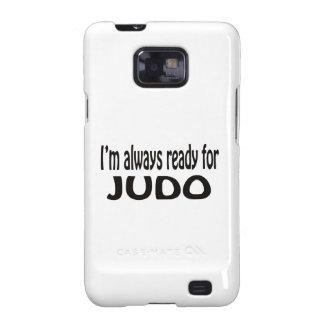 Eu estou sempre pronto para o judo capas para galaxy s2