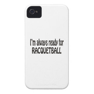 Eu estou sempre pronto para o Racquetball. Capas iPhone 4 Case-Mate