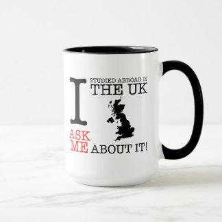 Eu estudei no exterior na caneca BRITÂNICA!