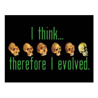 Eu evoluí o cartão
