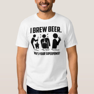 Eu fabrico cerveja a cerveja. Que é sua T-shirt