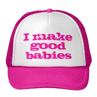Eu faço a bons bebês o chapéu boné
