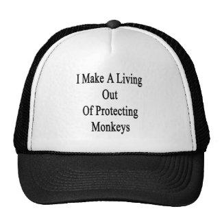 Eu faço uma vida fora dos macacos de protecção bones