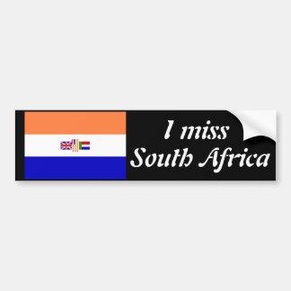 Eu falto África do Sul Adesivo Para Carro