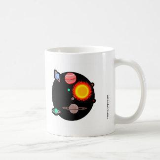 Eu falto Pluto. Caneca De Café