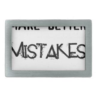 eu farei melhores erros amanhã