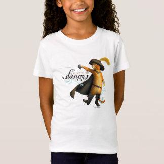 Eu flerto com perigo (a cor) camiseta