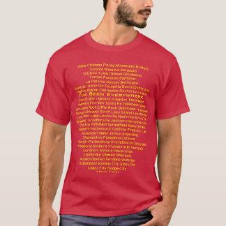 Eu fui em toda parte - uma camisa de MisterP