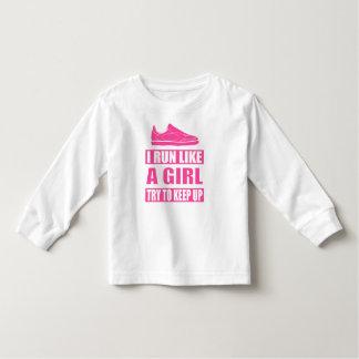 Eu funciono como uma menina t-shirt