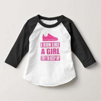 Eu funciono como uma menina t-shirts