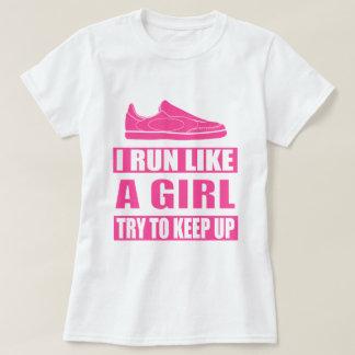 Eu funciono como uma menina tshirt