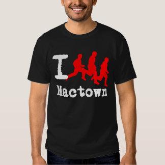 Eu funciono Mactown perto: Camisetas de Durty
