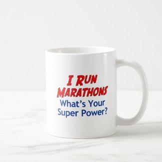 Eu funciono maratonas o que é sua caneca do poder