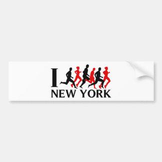 EU FUNCIONO NEW YORK ADESIVO PARA CARRO