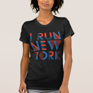 Eu funciono New York Camiseta