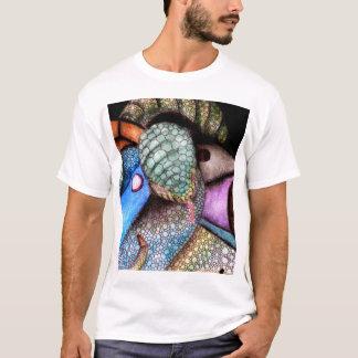 Eu gosto da arte abstracta camiseta