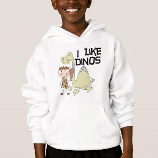 Eu gosto de Dinos - camiseta e presentes do menino
