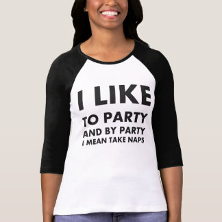 Eu gosto de party… a camisa