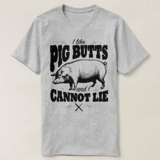 Eu gosto do t-shirt engraçado do humor do slogan camiseta