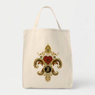 Eu grande visto melhor da flor de lis ver por favo bolsa para compras