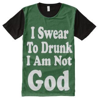Eu juro às camisas bêbedas