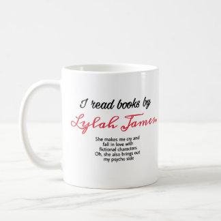 Eu li livros pela caneca de James do lylah