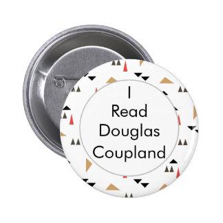 Eu li o botão canadense dos livros de Douglas Bóton Redondo 5.08cm