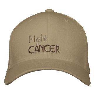 Eu luto o boné bordado cancer