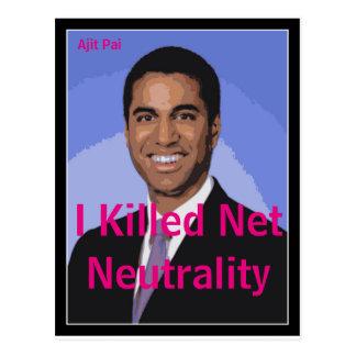 Eu matei o cartão líquido do FCC | da neutralidade
