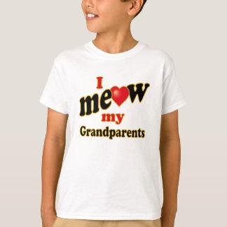 Eu Meow minhas avós Camiseta