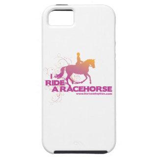 Eu monto umas capas de iphone do cavalo de corrida capa tough para iPhone 5