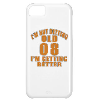 EU NÃO ESTOU OBTENDO 08 QUE VELHOS EU ESTOU CAPA PARA iPhone 5C