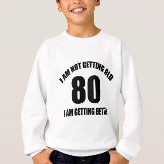 Eu não estou obtendo 80 que velhos eu estou agasalho