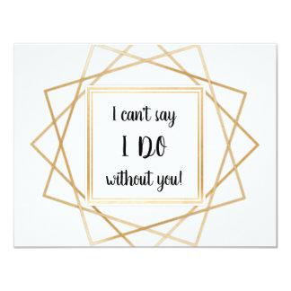 Eu não posso dizer que eu faço sem você o cartão