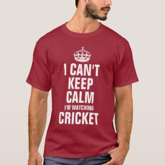 Eu não posso manter a calma que eu estou olhando o camiseta