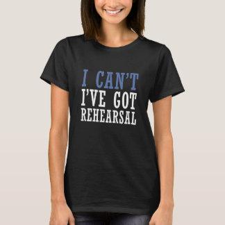 Eu não posso - teatro camiseta