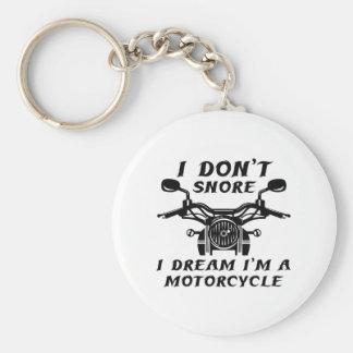 Eu não ressono chaveiro