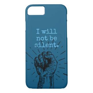 Eu não serei capa de telefone silenciosa