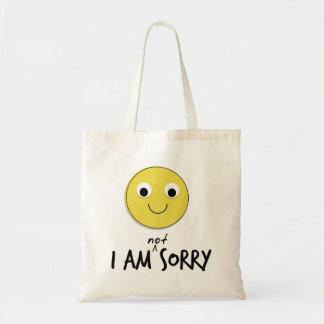 Eu não sou as bolsas pesarosas