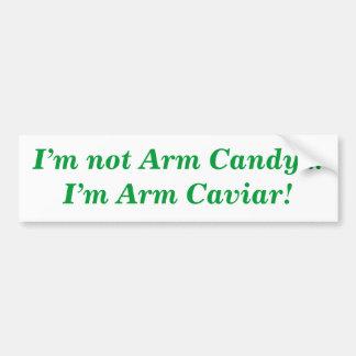 Eu não sou doces do braço… que eu sou autocolante adesivo para carro